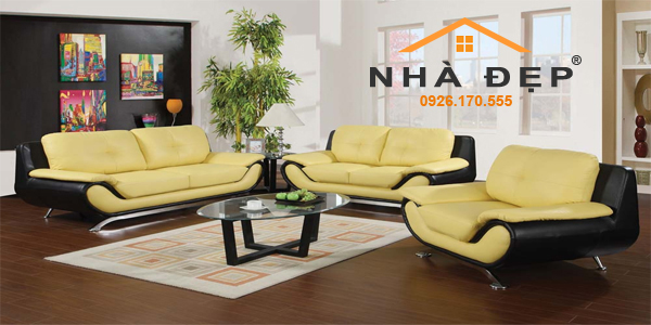 bọc nệm ghế salon sofa phòng khách