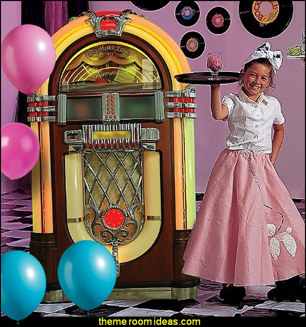 Jukebox Standee  50s party ideas - 50s party decorations - 1950s Theme Party - 1950's Rock and  Roll Themed Party Supplies - 50s Rock and Roll Theme Party - 50s party decorations - 50s party props - 50s diner party  50s Costume
