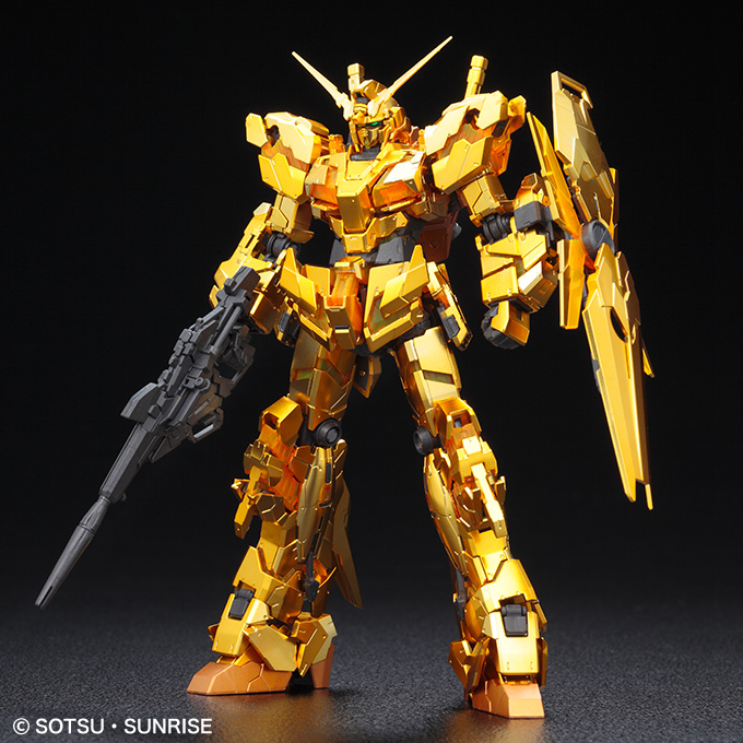 Gundam RG 1/144 Unicorn Gold Coating Destroy Mode