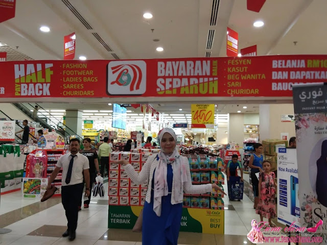 Tawaran Bayaran Balik Separuh Harga di Lulu Hypermarket