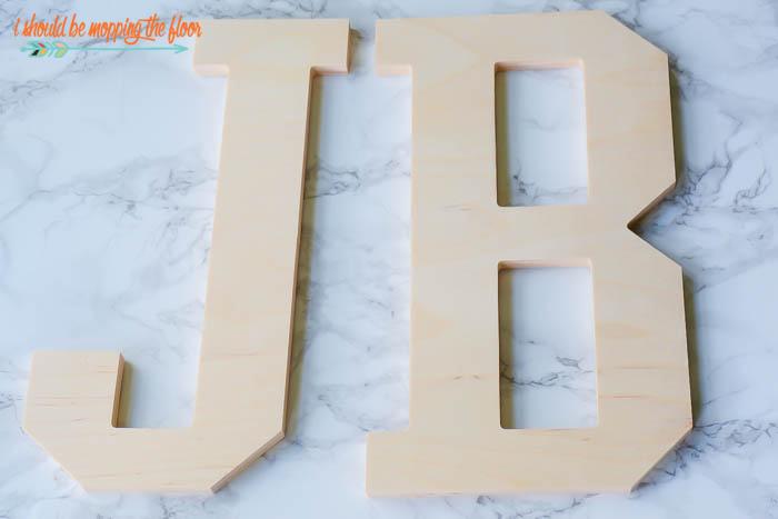 Walmart Wooden Letters