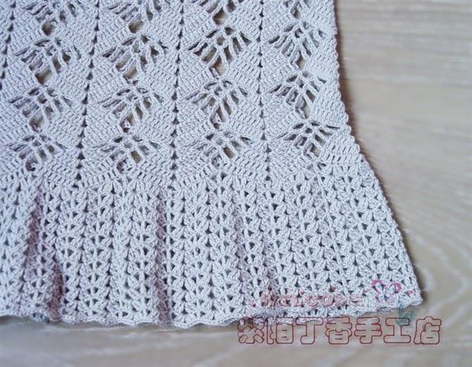 Maravilhas Do Crochê Vestido De Crochê