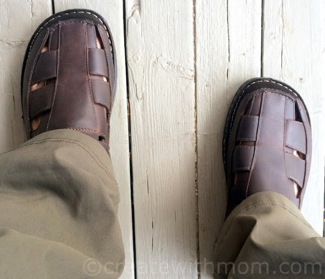 sandals for men from Marks