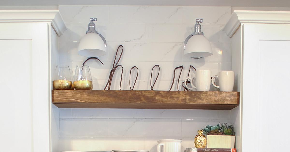 Kitchen Cabinet Shelves Wood