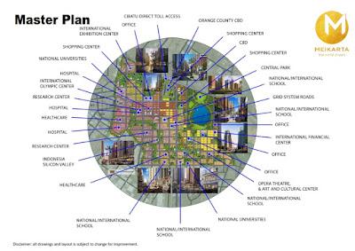 masterplan kota meikarta