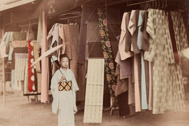 47 Incredible Colorized Photos That Show Everyday Life of Japan in the Late 19 Century  vintage