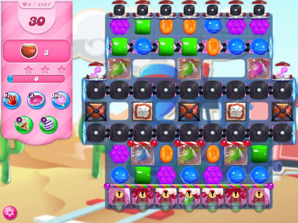 Candy Crush Saga level 4457