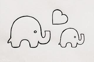 Stadtlandeltern - DIY - Windeltorte - Elefanten - Geburtsgeschenk - Vorlage