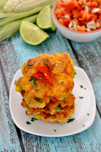 Cinco de Mayo, Corn Cakes, Fresh Salsa