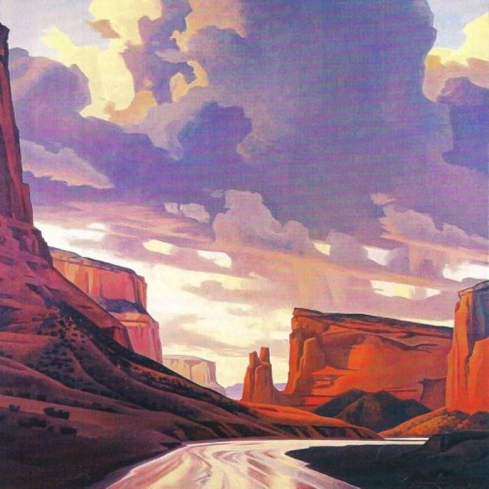 Американский художник. Ed Mell