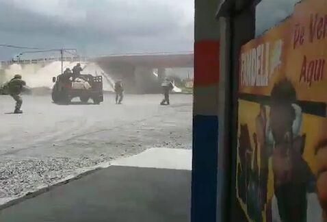 [VIDEO] Se enfrentan militares y sicarios del CDG en Río Bravo, Tamaulipas