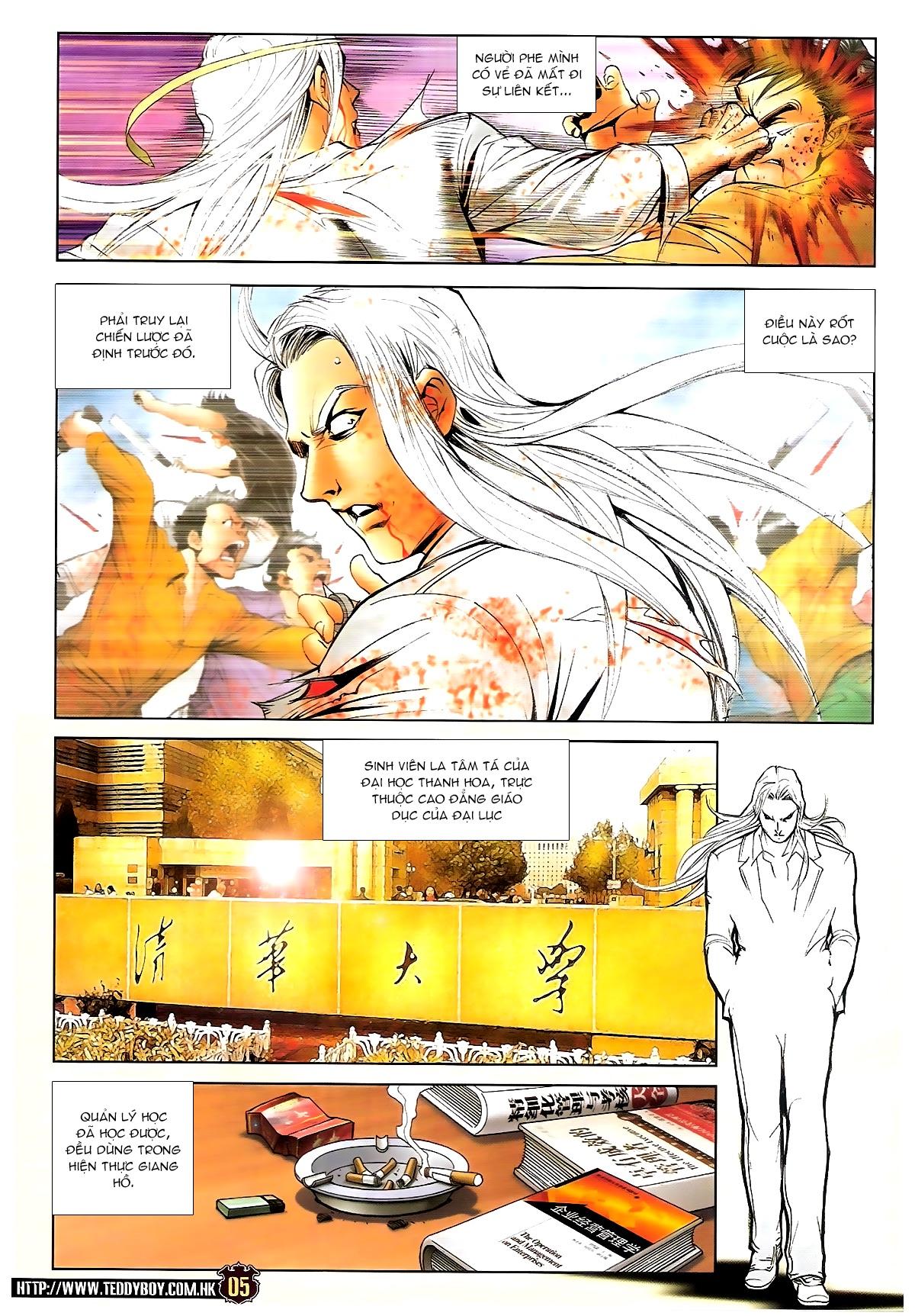 Người Trong Giang Hồ chapter 1703: lịch sử trùng diễn 4 trang 3