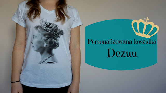 RECENZJA: Personalizowana koszulka   Dezuu