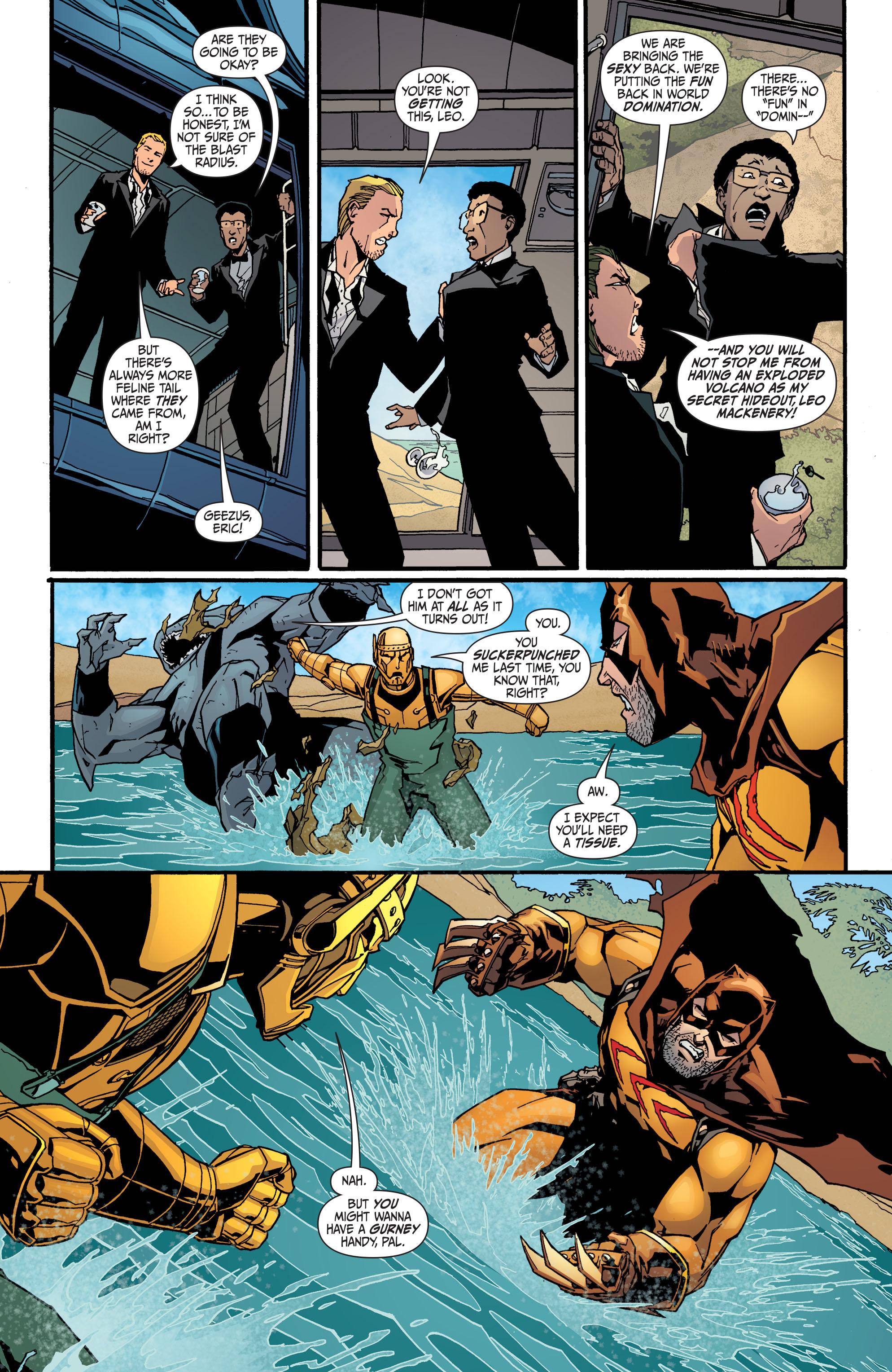 Read online Secret Six (2008) comic -  Issue #30 - 20