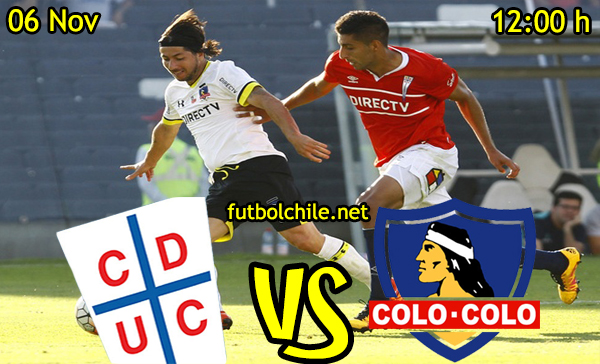 Ver stream hd youtube facebook movil android ios iphone table ipad windows mac linux resultado en vivo, online: Universidad Católica vs Colo Colo