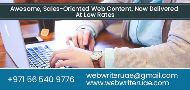 Content Writers Dubai