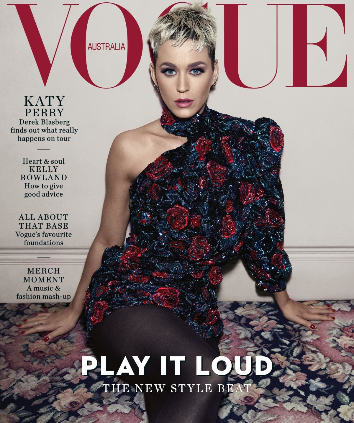 Katy Perry covers Vogue Australia August 2018