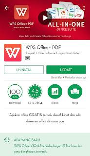 WPS office berfungsi hampir sama dengan microsoft office yang dikembangkan oleh Microsoft.