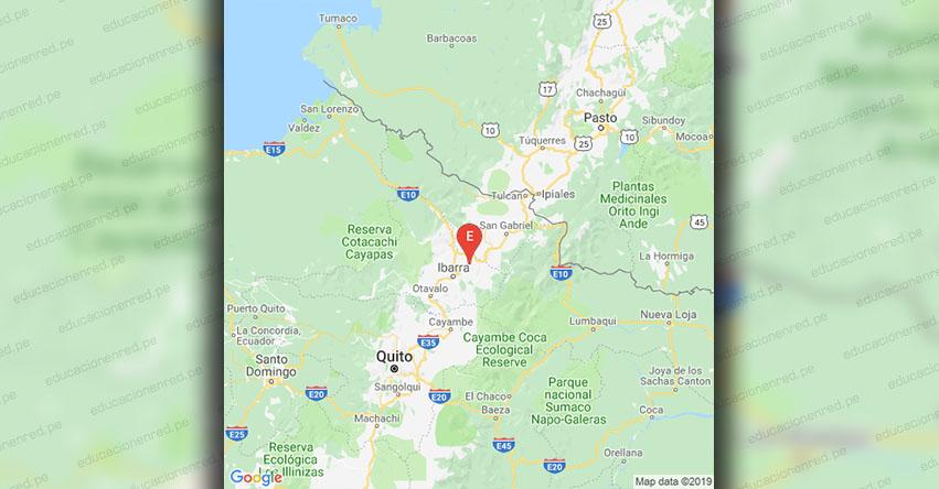 Temblor en Ecuador de Magnitud 3.5 (Hoy Jueves 6 Junio 2019) Sismo - Epicentro - Ibarra - Imbabura - Quito - www.igepn.edu.ec