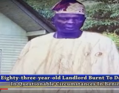 landlord burnt to death tenant
