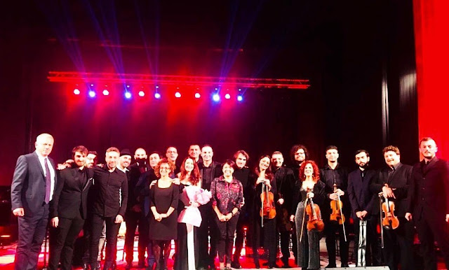 Terra del Sole Orchestra, gala evening in Vlora