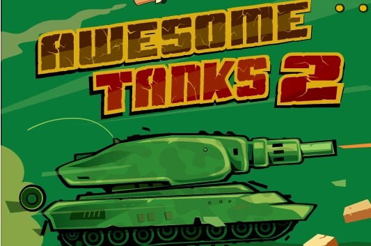 Play Free Awesome Tanks 2 Action Shooting Online Games