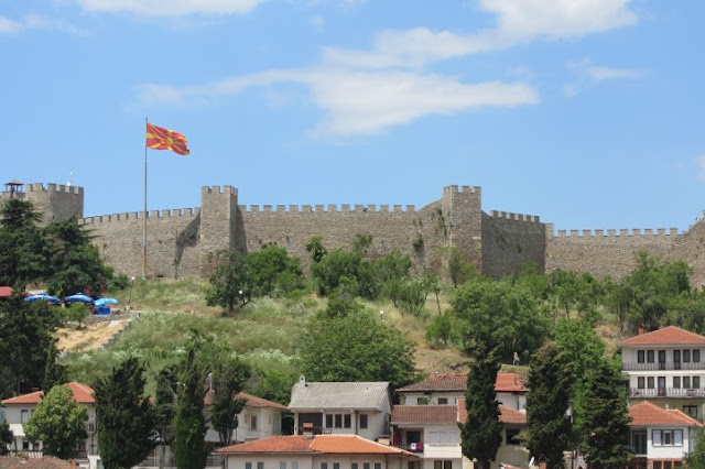 Macedonië, Ohrid, fort