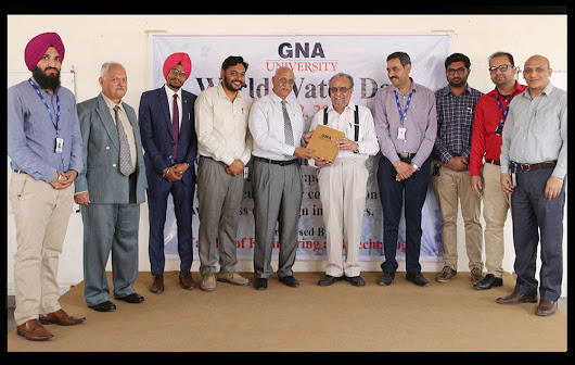 GNA University celebrated World Water Day