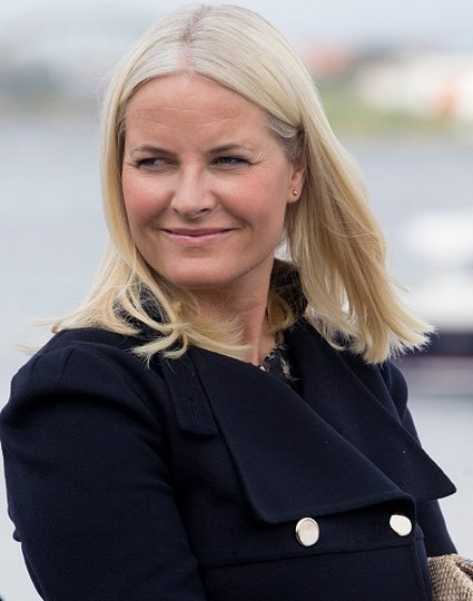 King Harald, Queen Sonja, Crown Princess Mette-Marit, Crown Prince Haakon visit Stavanger for Norway's Silver Jubilee Tour.