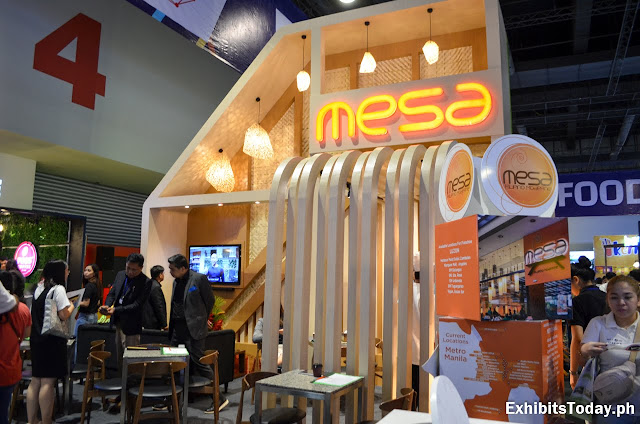 Mesa Restaurant Exhibit Stand
