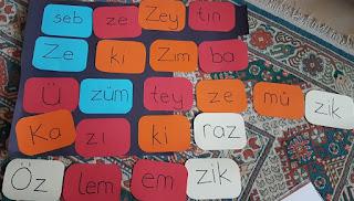 1. Sınıf Z Sesi Öğretimi Ders Planı