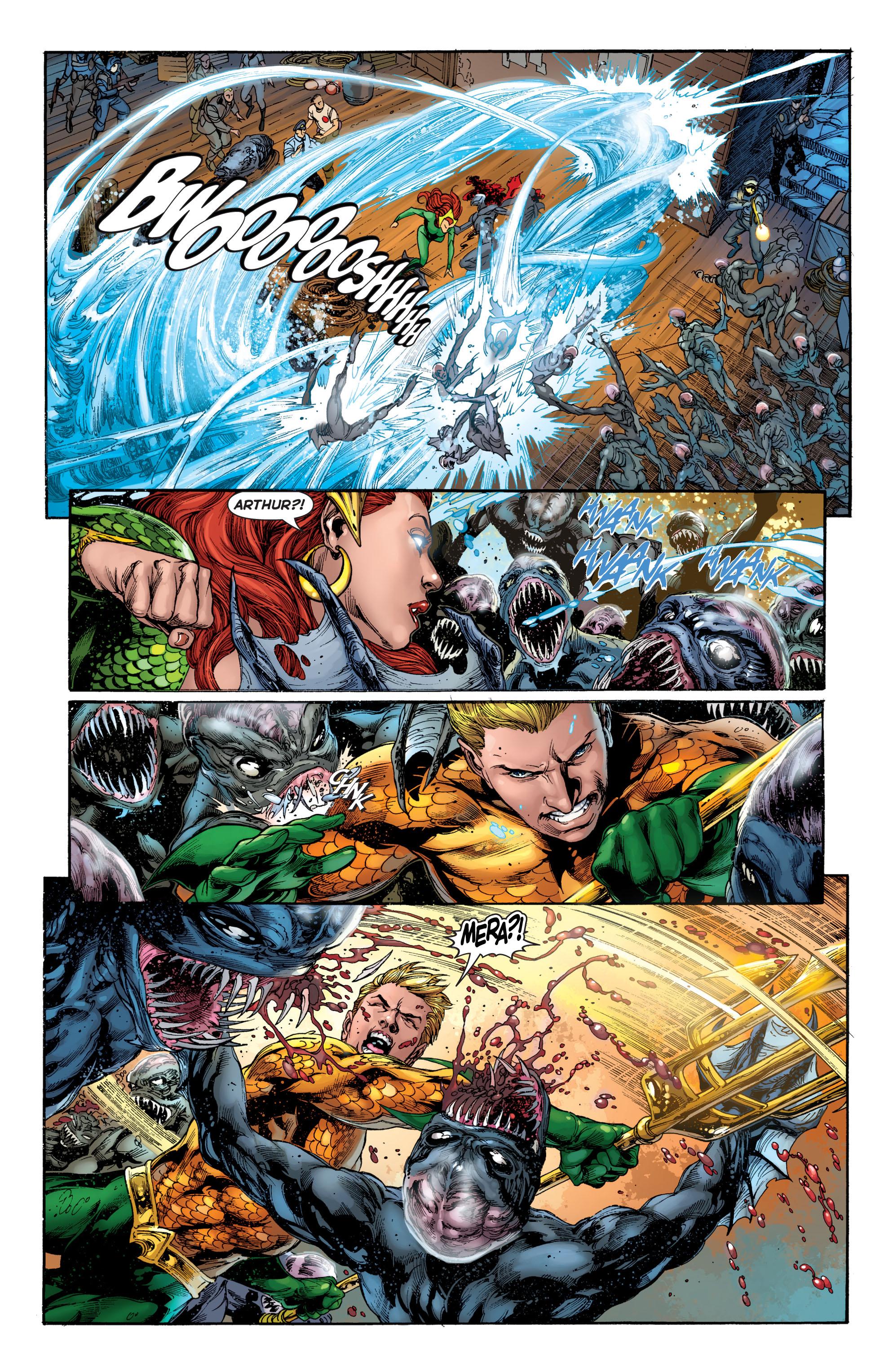 Read online Aquaman (2011) comic -  Issue #2 - 18