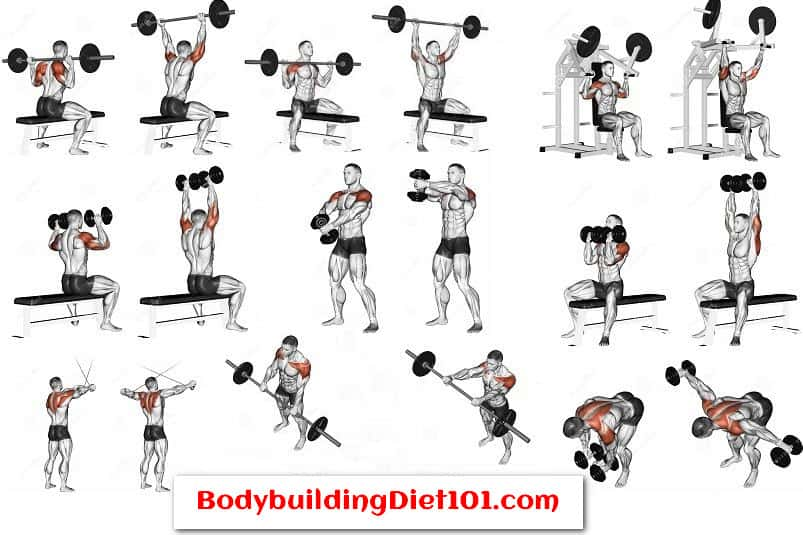 Shoulder Workout Routine AT Home