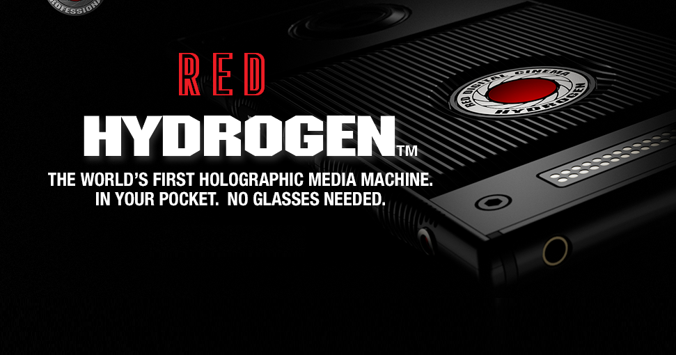 RED is selling a $1195 'holographic' media machine for filmmakers