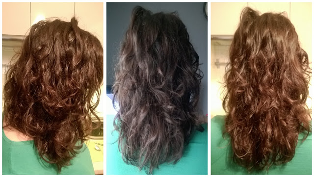 niedziela dla włosów - efekt
