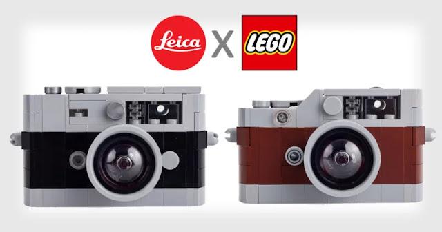 Leica: in vendita una versione in lego della Leica M