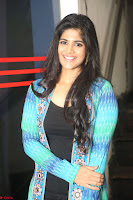 Megha Akash in a beautiful Anarkali dress with Long Jacket at LIE success meet ~  Exclusive Celebrities Galleries 033.JPG