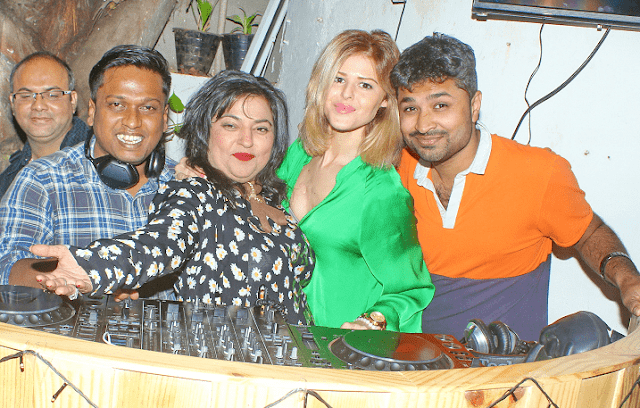 1. Dolly Bindra with guest