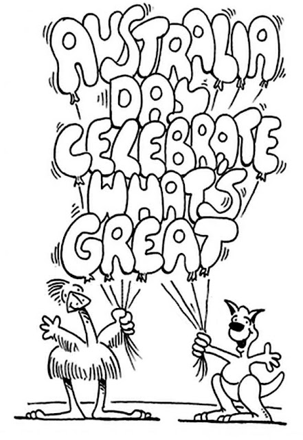 Australia Day 2017 Coloring Pages