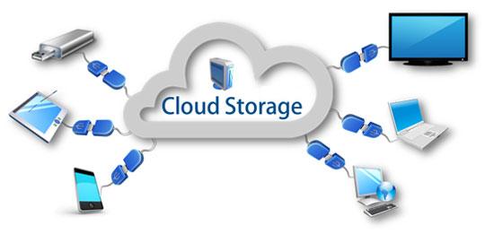 خدمة التخزين السحابي Cloud storage