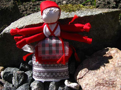 Народная кукла Десятиручка. Мастер-класс