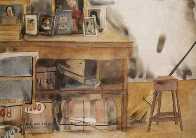 María Teresa Berrios artista boliviana habitación