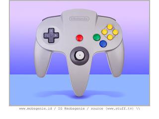 NINTENDO 64 CONTROLLER (1996)