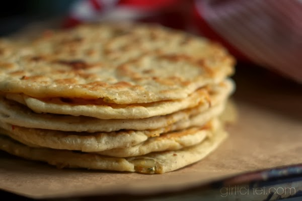 Aloo Paratha from www.girlichef.com