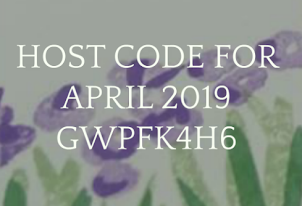 HOST CODE FOR APRIL 2019