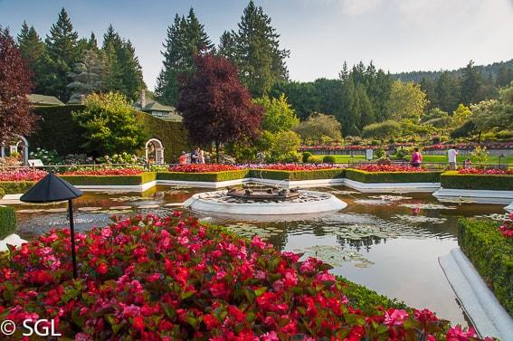 Jardines butchart los m s bonitos del mundo and n 27 for Jardines 7 islas