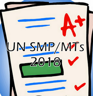 Soal Try Out UN SMP/MTs 2018