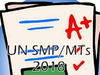 Soal Try Out UN SMP/MTs Tahun Ajar 2017/2018 Lengkap