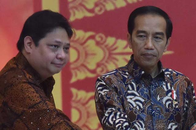 Jokowi Tak Permasalahkan Rangkap Jabatan Airlangga