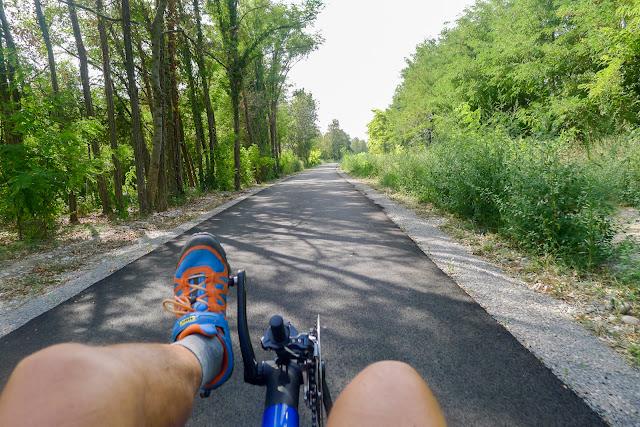 De Paris à Narbonne en vélo, pistes neuves
